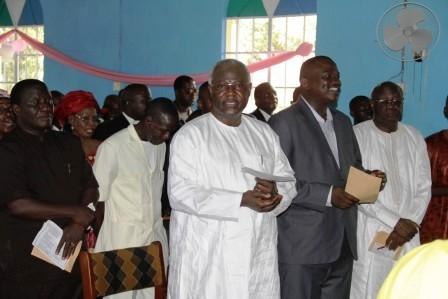 president koroma at makeni THANKSGIVING – sept 2011