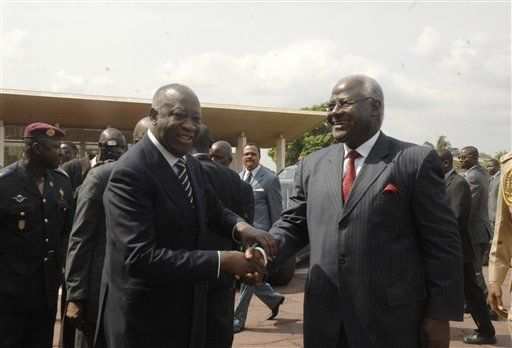 Koroma asks Gbagbo to step down from office
