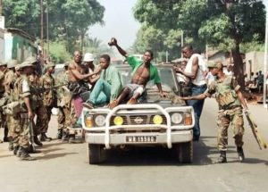 rebels enter freetown