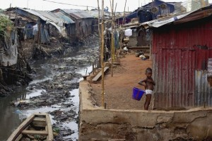 Abject poverty in the midst of abundant natural wealth