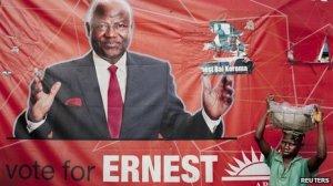 Ernest Koroma - elections 2012