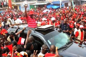 President Koroma 2012 support