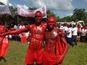 APC SUPPORTERS IN PUJEHUN - VOTE 2012