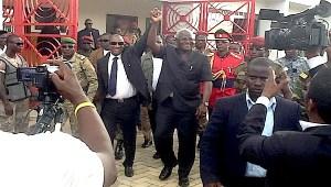 President Alpha Conde and President Koroma