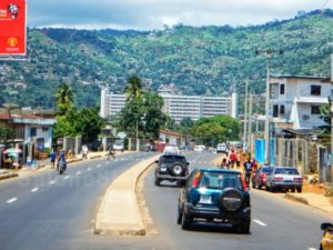 Freetown roads -