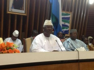 PRESIDENT KOROMA ADDRESS PARLIAMENT- DEC 2013