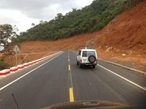 road construction in Grafton freetown