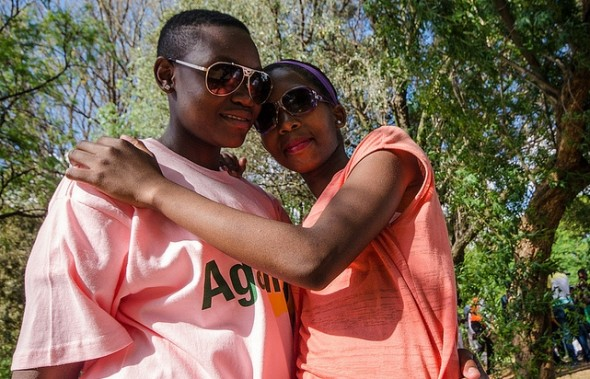 Lesbians in pride-south-africa