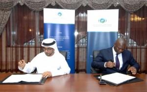 kaifala marah signing Freetown solar deal2