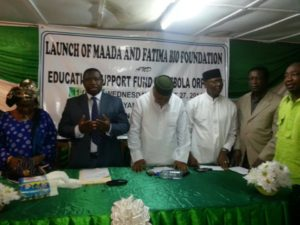 Bio launch Ebola fund2