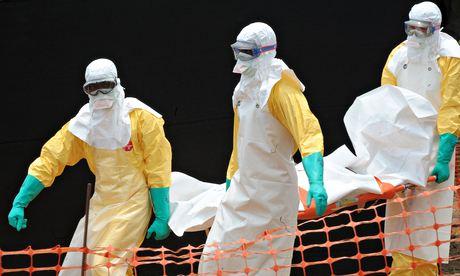Ebola centre in Guinea