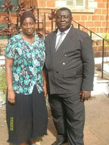 Dr Buck and husband
