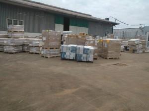 Ebola supplies