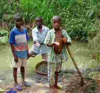 salone industry – child mining