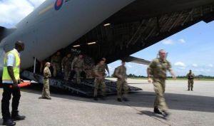 British army arrives in Sierra Leone1