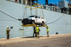 British warship arrives in Sierra Leone1