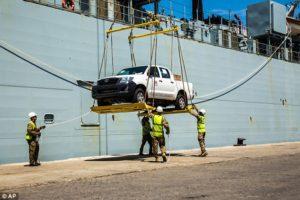 British warship arrives in Sierra Leone1