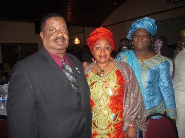 madina rahman far right with editor of cocorioko kabs kanu