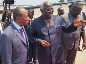 president koroma and alpha conde of guinea