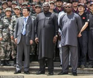 Zhao Yanbo, Ernest Bai Koroma, Samuel Sam-Sumana