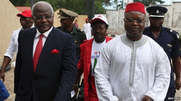 sam sumana and president koroma at war