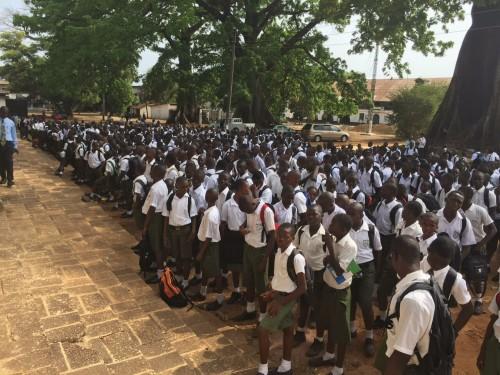 schools reopen in Sierra Leone