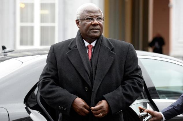 President koroma in Brussels March 2015
