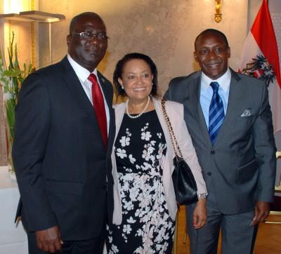 Ambassador Jongopie Stevens represented the Republic of Sierra Leone during the award ceremony
