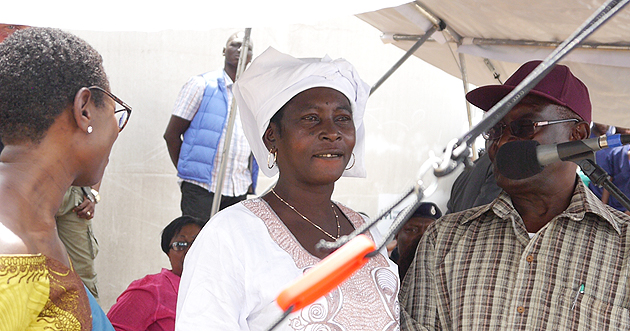 Adama Sankoh – Ebola survivor sierra-leone