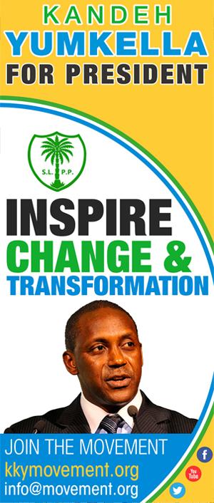 Kandeh Yumkella for President
