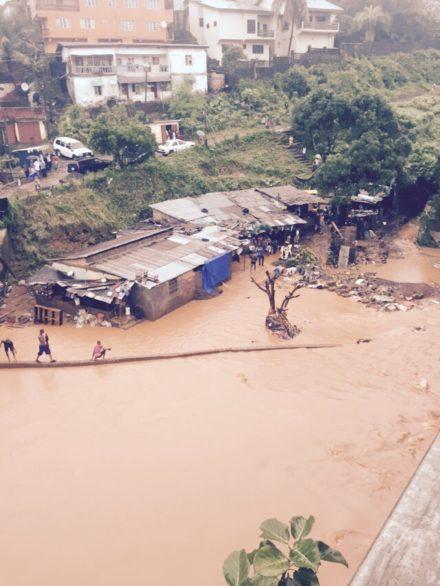 Freetown flooding 20151