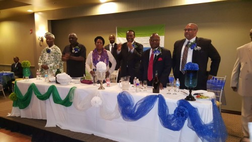 KKy hosted by Sierra Leoneans in Texas