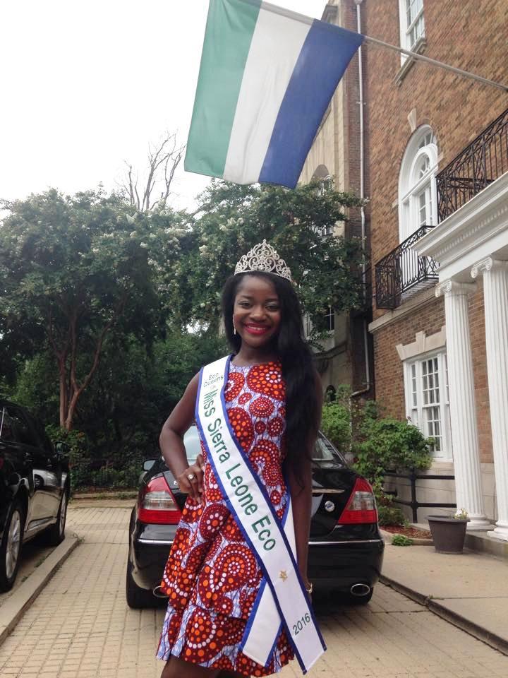 Ruby B Johnson crowned Miss Eco Sierra Leone