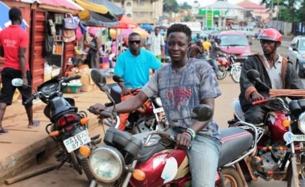 Okada riders – photo courtesy of UNDP
