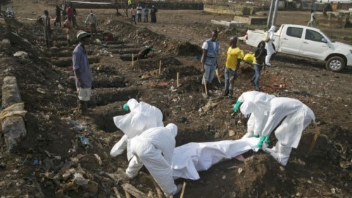 Ebola dead buried in disused waste dump site at kingtom freetown