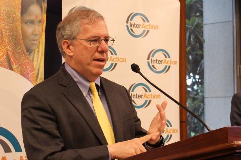 USAID Associate Administrator Eric Postel