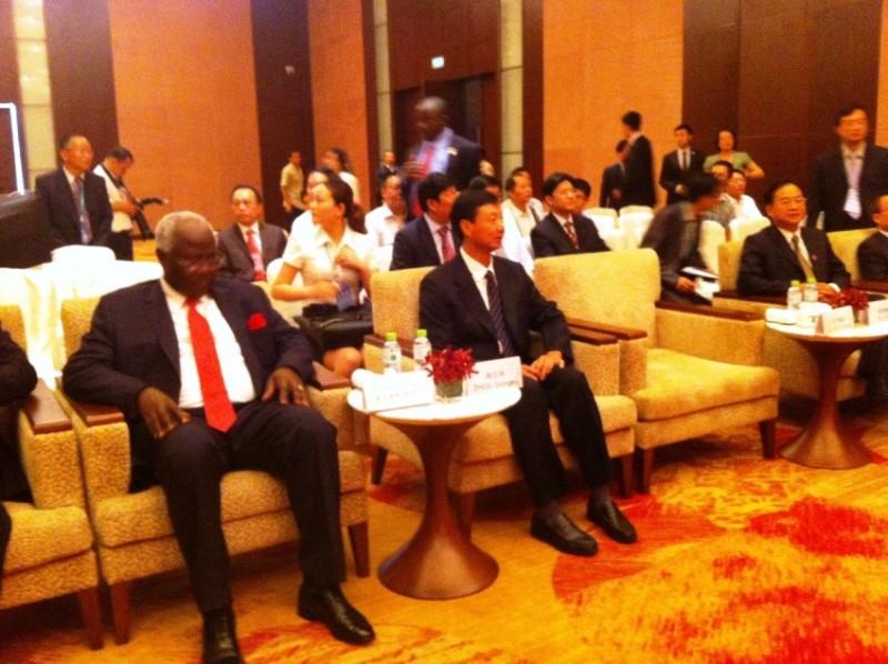 president koroma in china – briefing