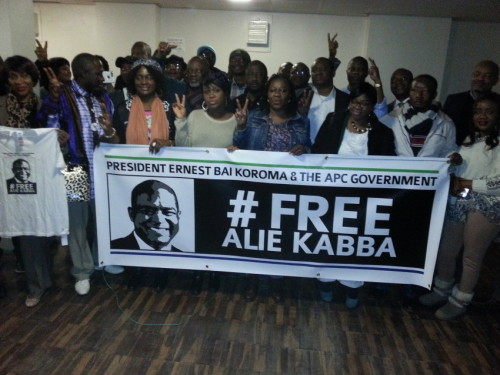 Friends of Alie kabba UKI 2