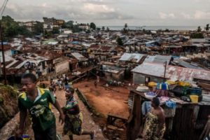 Freetown Poverty – Courtesy of National Geographic