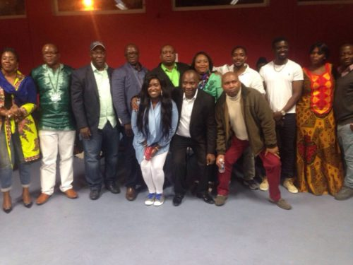 Newly elected SLPP UK branch executive officers