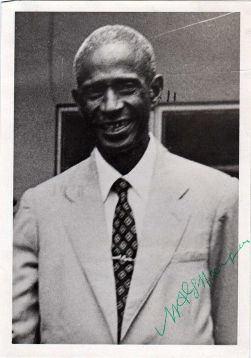 Sir Milton Margai - Prime Minister