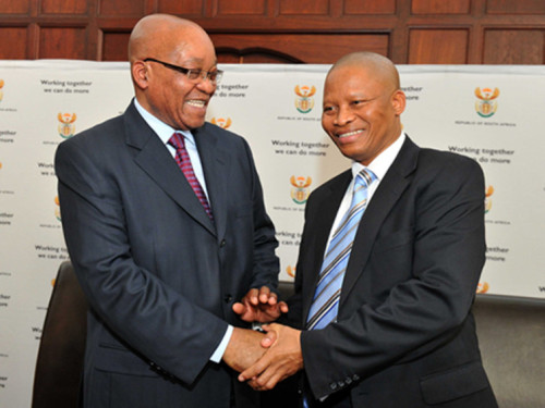 Zuma and chief justice