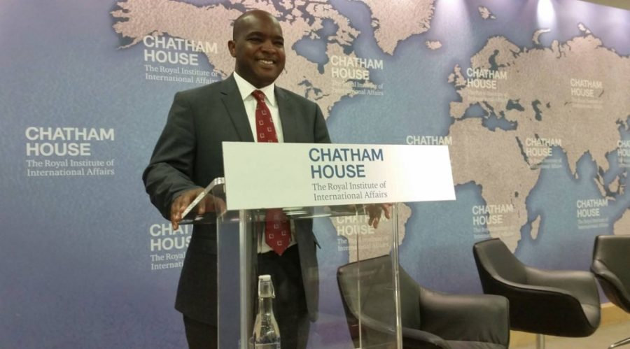 Alie Kabba at Chatham House1