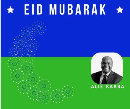 Eid Mubarak from Alie Kabba