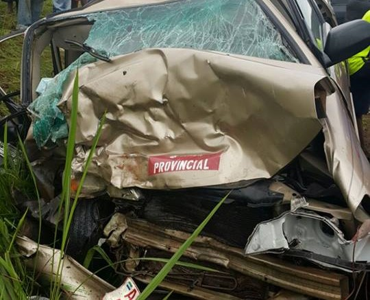 Joseph Kamara in a road accident - 24 July 2016