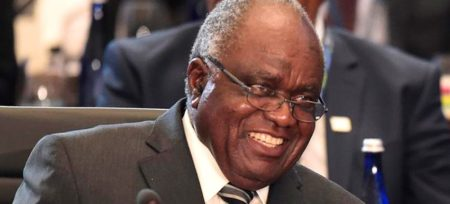 President Pohamba of Namibia - 2014 winner