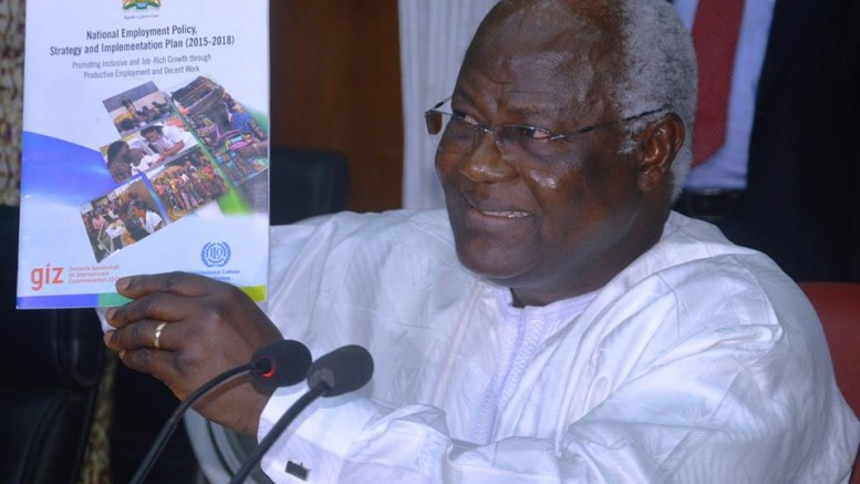 President koroma launches another strategy