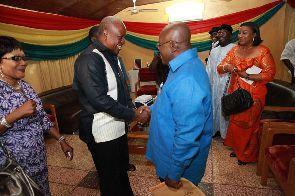 Mahama congratulates Akufo-Addo