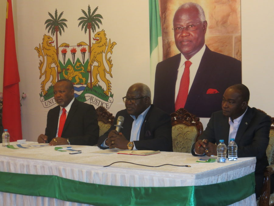 President Koroma in China – 30 Nov 2016 1