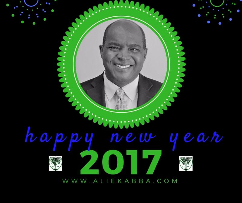 Alie Kabba New Year Wishes